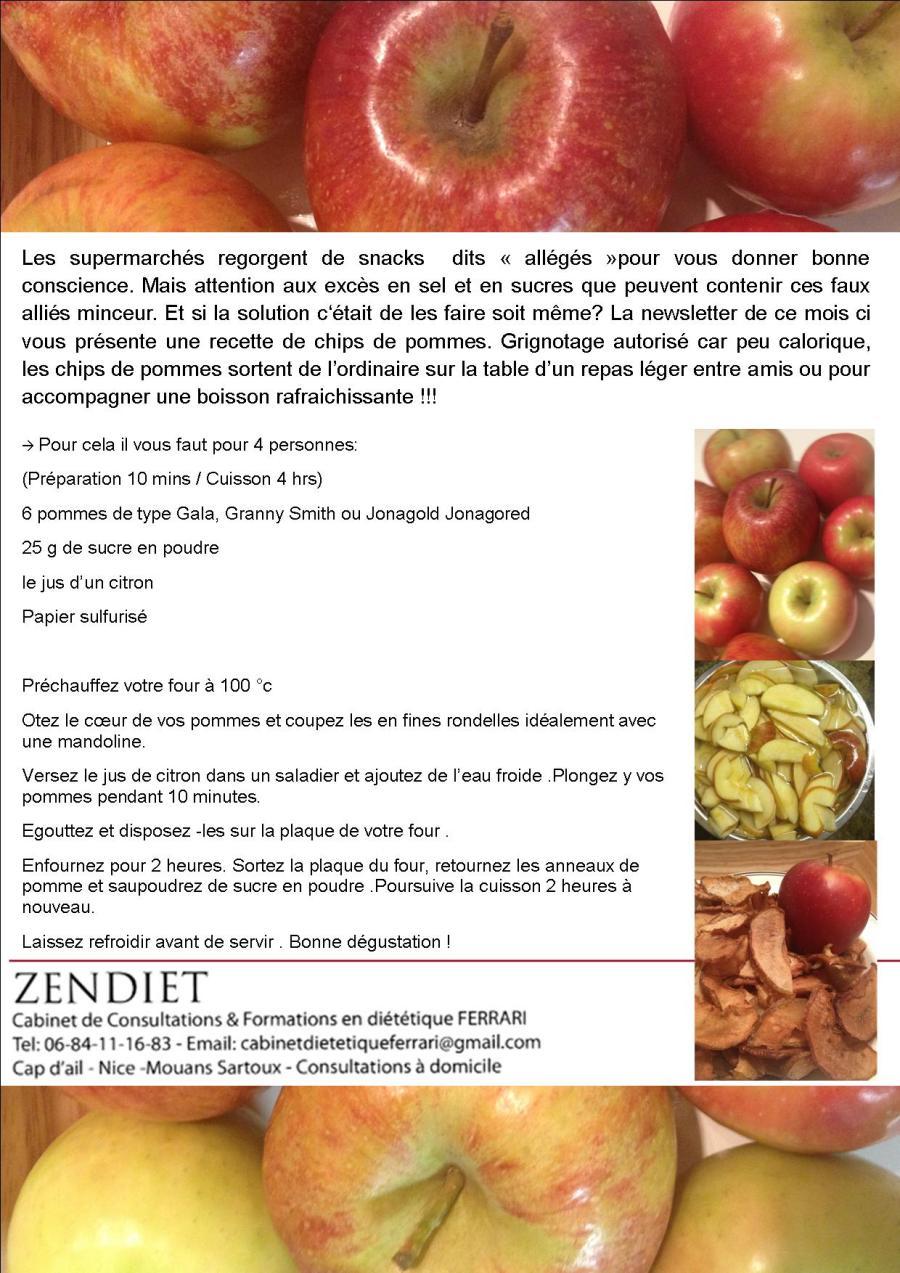 Fraîcheur de Pomme