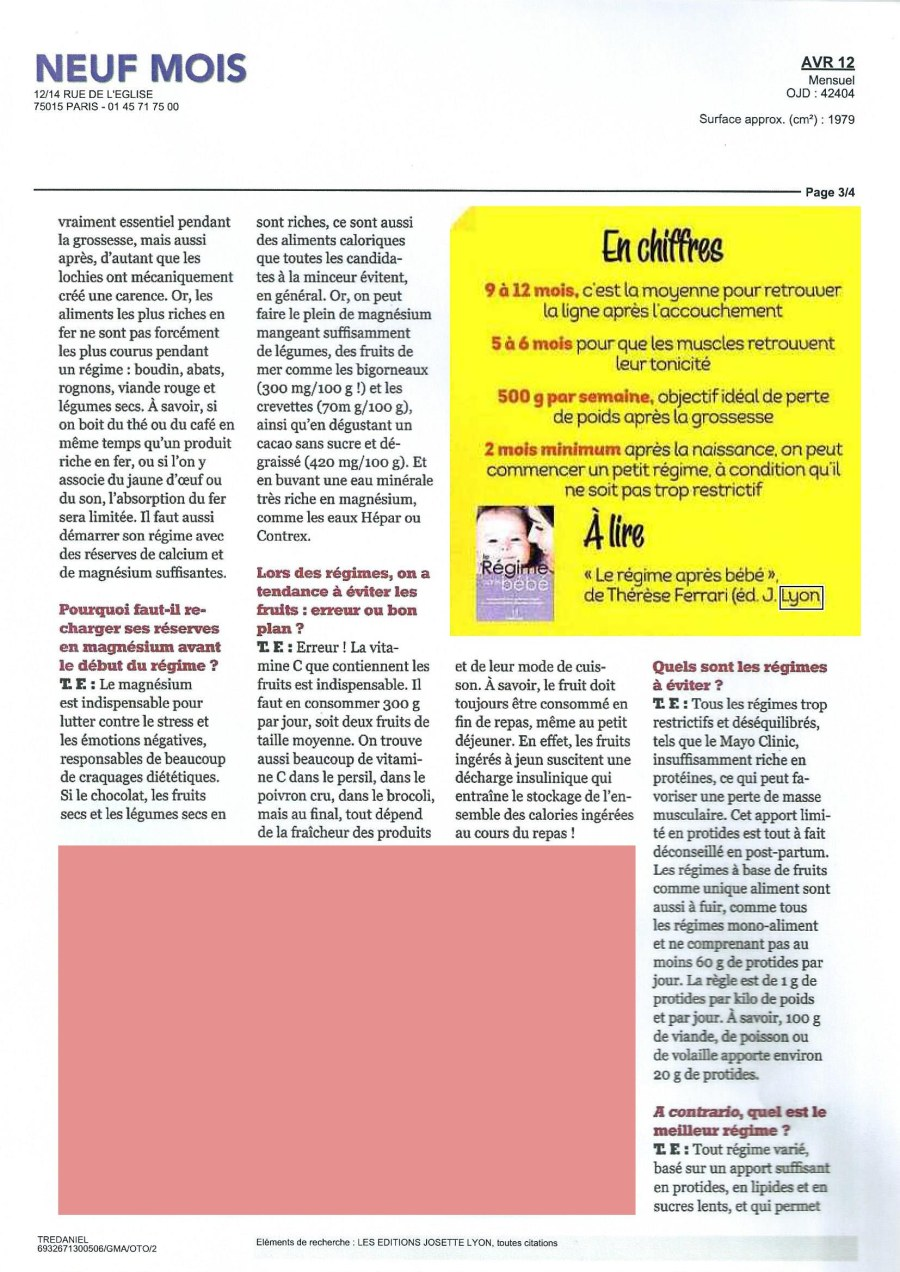 ARTICLE REGIME APRES BB SCAN 2 mod
