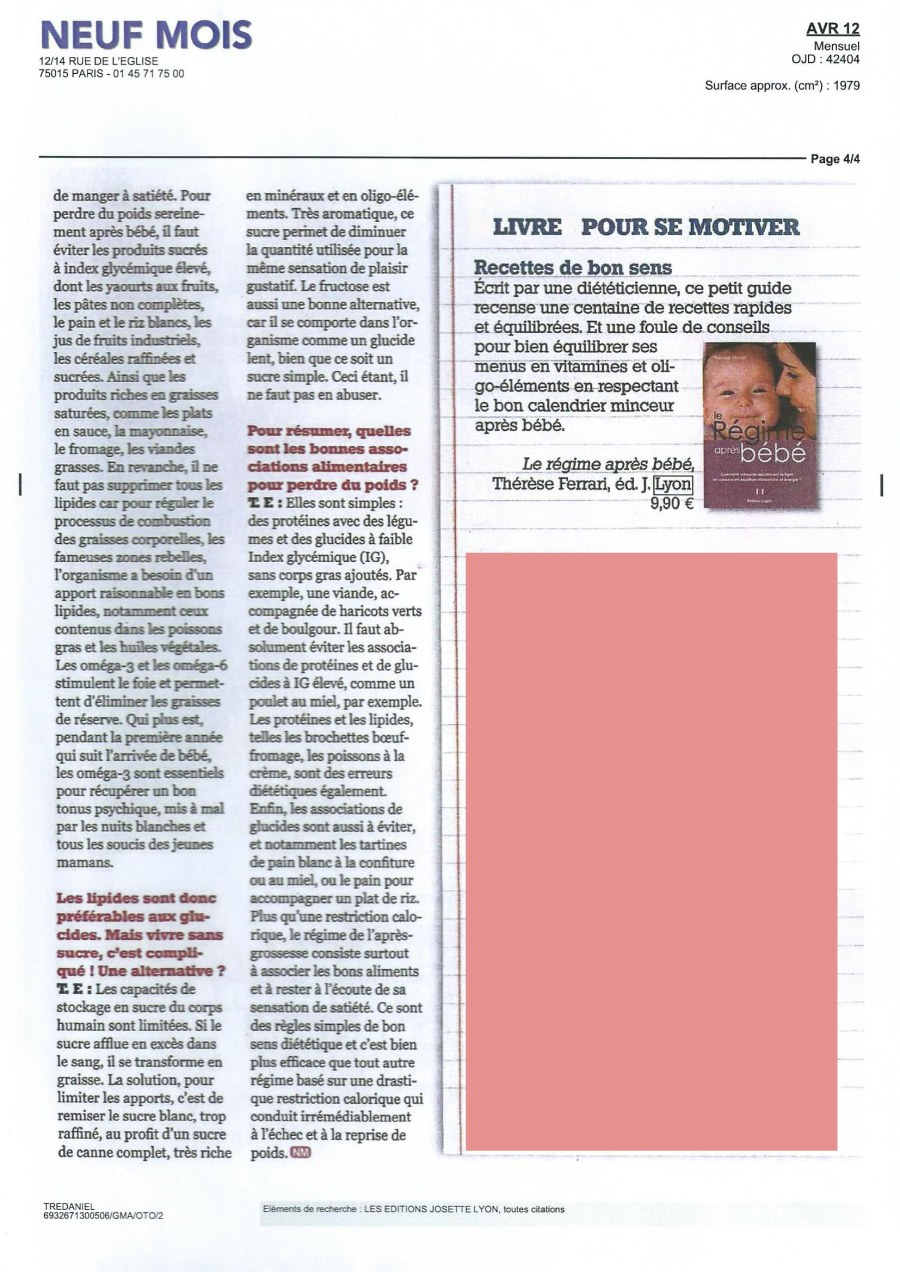 ARTICLE REGIME APRES BB SCAN 3 mod